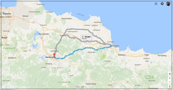 Map - Bandung - Cirebon